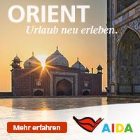 Orientalische Nächte mit AIDA.