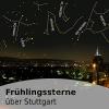 Frühlingssterne über Stuttgart