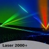 Laser-Musikshow