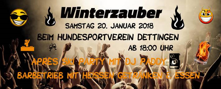 Winterzauber mit Aprés Ski Party