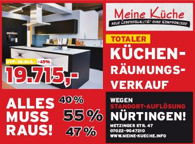 Küchen & Küchenstudios in Kirchheim, Dettingen, Weilheim ...