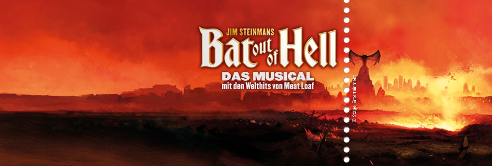 BAT OUT OF HELL - DAS MUSICAL in Oberhausen - Tickets