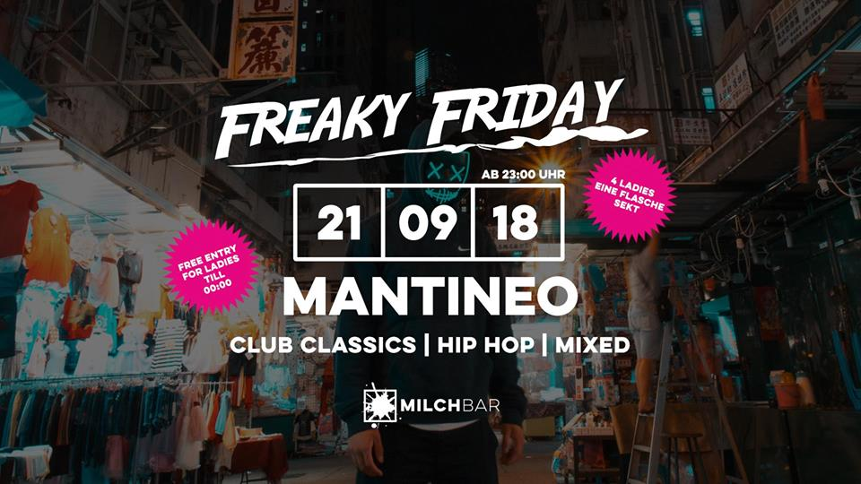 Freaky Friday – Mantineo