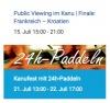 24h Paddeln zu Gunsten der Esslinger Kinderklinik