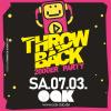 THROWBACK 2000ER PARTY im OAK-Club