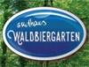 Waldbiergarten täglich ab 16h geöffnet