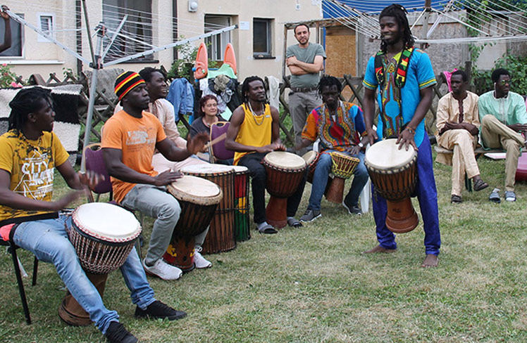 SOUND OF GAMBIA | Im Manufaktur Garten
