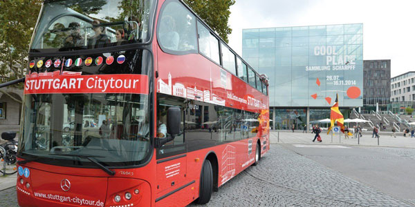 Stuttgart Citytour: Hop-on hop-off (blaue Tour)