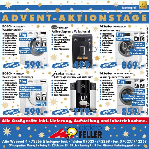 Advent Aktionstage