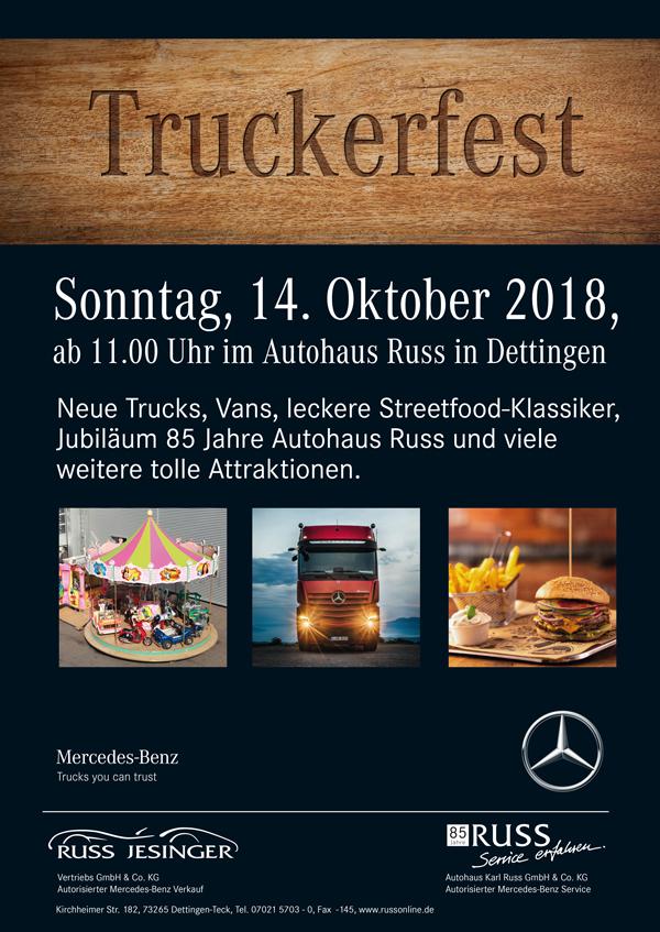 Truckerfest Am 14.10.2018