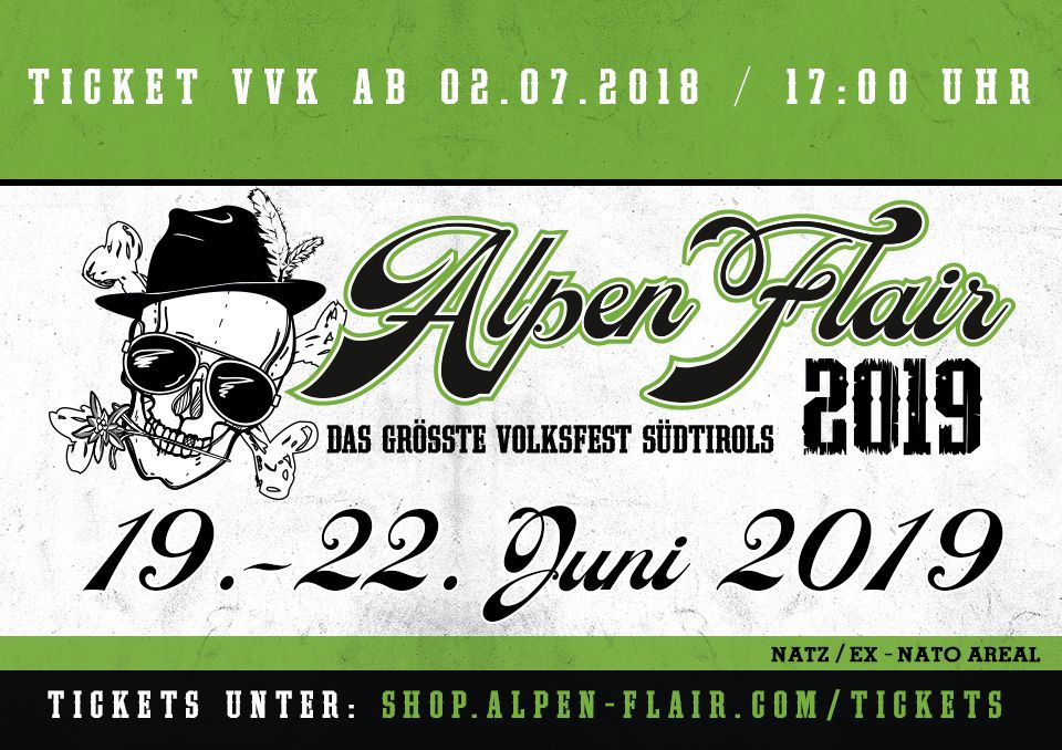 Alpen Flair 2019 Tickets